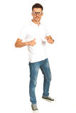 Full length of casual man Stock Photo