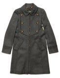 Full length coat Royalty Free Stock Photos