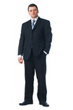 Full length of a confident young business man Stock Image