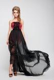 Full length of a fashion model. Stock Photos
