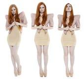 Full length of fashion models Royalty Free Stock Photo