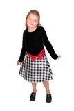 Full length female child Stock Photos