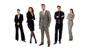 Team of businesspeople Royalty Free Stock Image