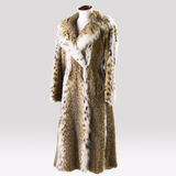 Full Length Fur Coat Royalty Free Stock Photo