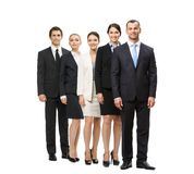 Full length of group of business people Royalty Free Stock Images