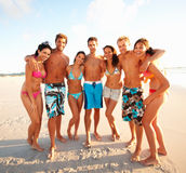 Full length: Group of friends having fun Stock Images