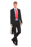 Full length of a handsome business man Stock Photo
