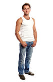 Full-length of handsome young man Royalty Free Stock Photography