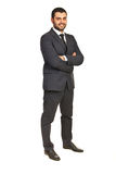 Full length of happy executive male Stock Photography