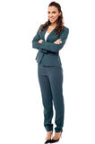 Full length image of confident business woman Stock Photos