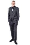 Full length image of handsome businessman Stock Image
