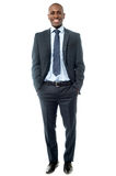 Full length image of handsome businessman Royalty Free Stock Photo
