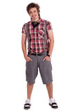Full length image of a handsome young guy Stock Photo