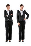 Full length image of happy business woman Royalty Free Stock Photos