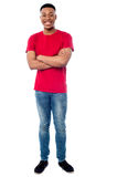 Full length image of smart young man Stock Photography