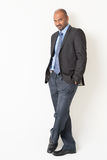 Full length Indian businessman Royalty Free Stock Photo
