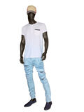 Full length male mannequin Royalty Free Stock Image