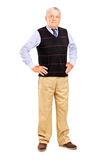 Full length of a mature male posing Stock Photos