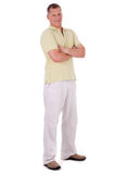 Full length of middle aged man standing Stock Photos