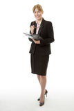 Full length office worker Stock Image