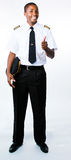 Full length photo of a pilot. Full length photo of a young pilot Stock Photography