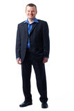 Full length picture of a Smiling Man. Stock Image