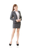 Full length portrait of Asian business woman Royalty Free Stock Photography