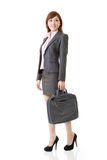 Full length portrait of Asian business woman Stock Photography