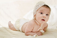 Full length portrait of baby. Royalty Free Stock Photography
