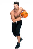 Full length portrait of a basketball player Stock Photo