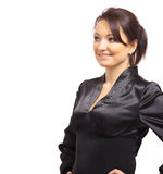 Full length portrait of a beautiful business Royalty Free Stock Photos