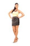Full length portrait of a beautiful woman Royalty Free Stock Image
