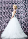 Full length portrait of the bride Stock Photography