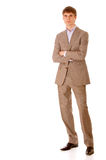 Full length portrait business man Royalty Free Stock Photo