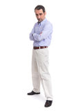 Full length portrait business man Royalty Free Stock Photography