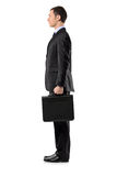 Full length portrait of a businessman Stock Image