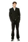 Full length portrait of businessman Royalty Free Stock Photos