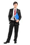 Full length portrait of a businessman Royalty Free Stock Photos