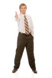 Full-length portrait of businessman Stock Image