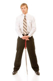 Full-length portrait of businessman Royalty Free Stock Photo