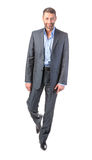 Full length portrait businessman Stock Photos