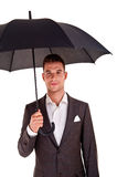 Full length portrait of businessman Stock Photography