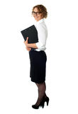 Full length portrait of businesswoman Stock Photo