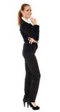 Full length portrait of businesswoman Royalty Free Stock Image