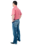 Full length portrait of a casual man Royalty Free Stock Photo