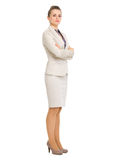 Full length portrait of confident business woman Stock Photo