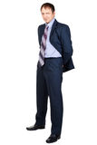 Full length portrait of a confident businessman Stock Photos