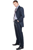 Full length portrait of a confident businessman Stock Photo