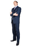 Full length portrait of a confident businessman Royalty Free Stock Photos
