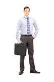 Full length portrait of a confident businessman Stock Photography